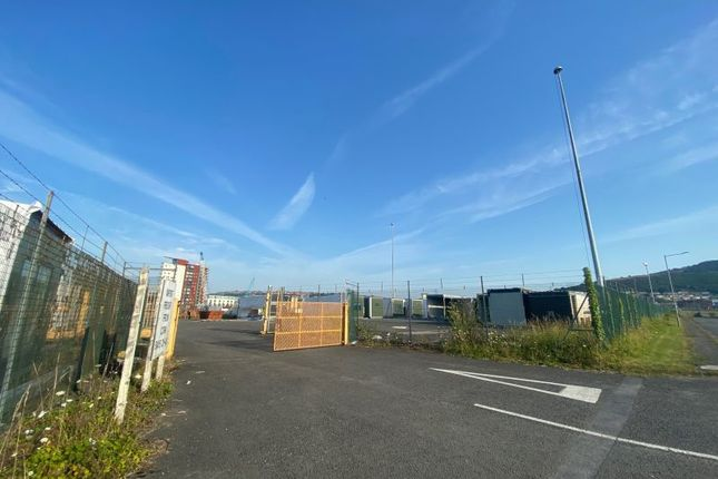 Thumbnail Land to let in Site 5, Former Ferry Terminal Car Park, Port Of Swansea