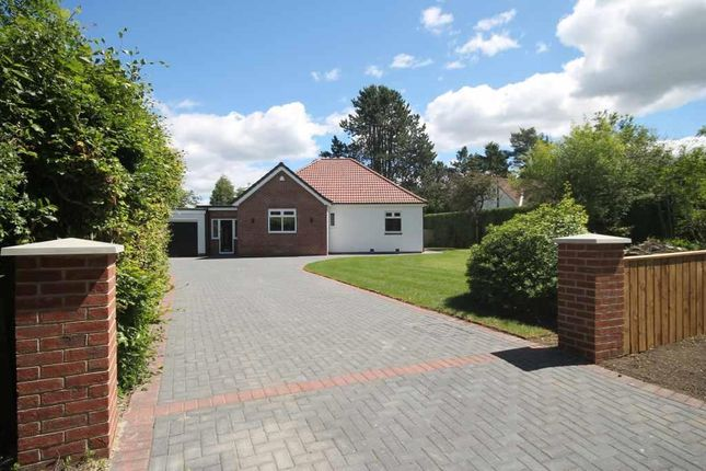 Detached bungalow for sale in Woodside, Ponteland, Newcastle Upon Tyne