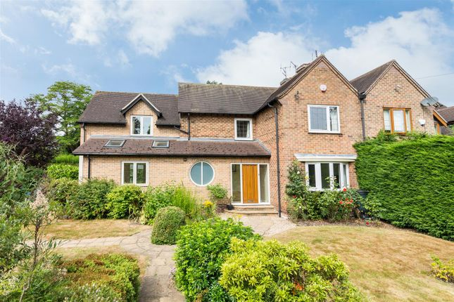 Thumbnail Semi-detached house for sale in Loughborough Road, Ruddington, Nottingham