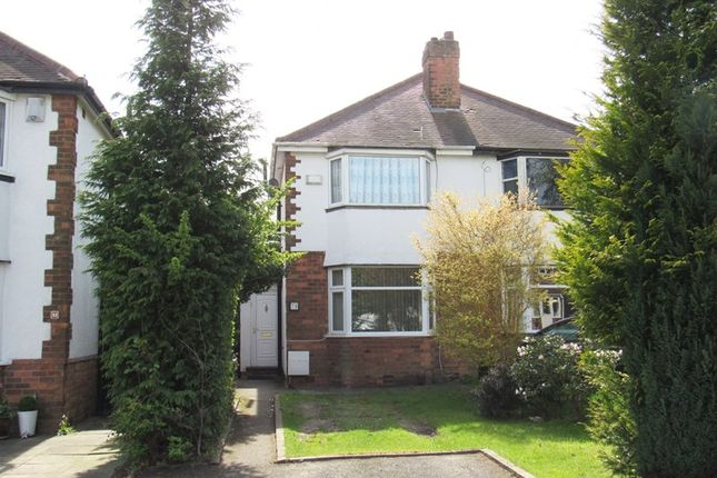 Thumbnail Semi-detached house for sale in Barn Lane, Solihull