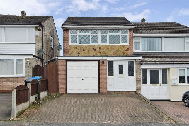Thumbnail Semi-detached house to rent in Glenthorne Drive, Cheslyn Hay, Walsall