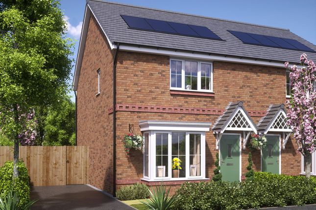 Thumbnail Semi-detached house for sale in Weaver, Blackberry Lane, Brinnington, Stockport, Greater Manchester