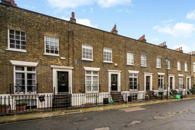 Thumbnail Terraced house to rent in Walcot Square, Kennington, London