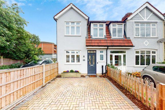 3 bed semi-detached house for sale in Wimborne Way, Beckenham, Kent BR3