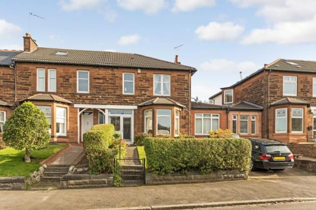 Thumbnail End terrace house for sale in Essex Drive, Jordanhill, Glasgow