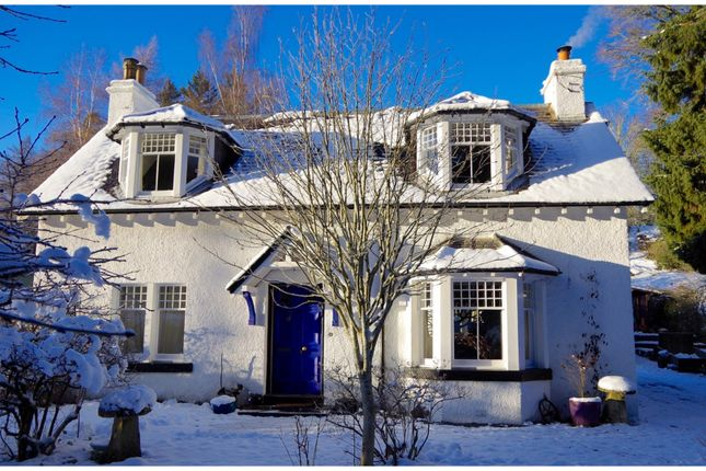 Thumbnail Detached house for sale in Strathtay, Pitlochry