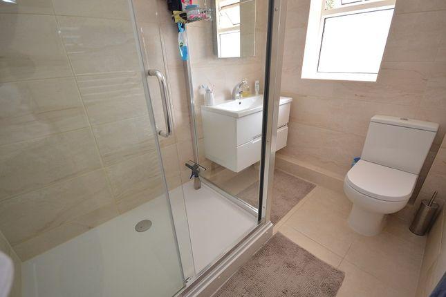 Shower Room of Reynolds Avenue, Chessington, Surrey. KT9