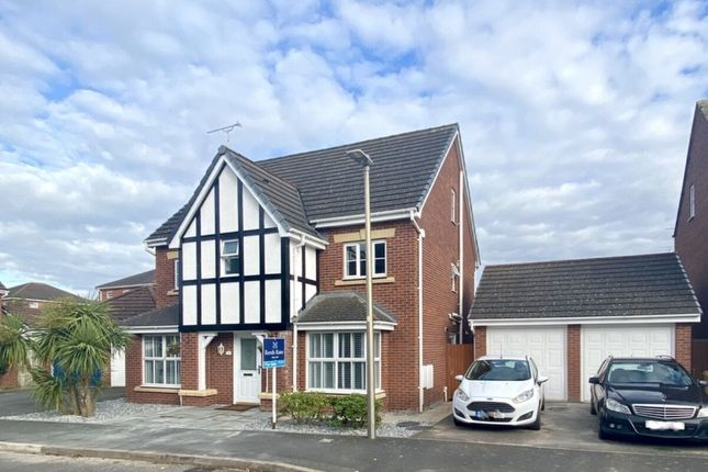 Thumbnail Detached house for sale in Sherratt Close, Stapeley, Nantwich