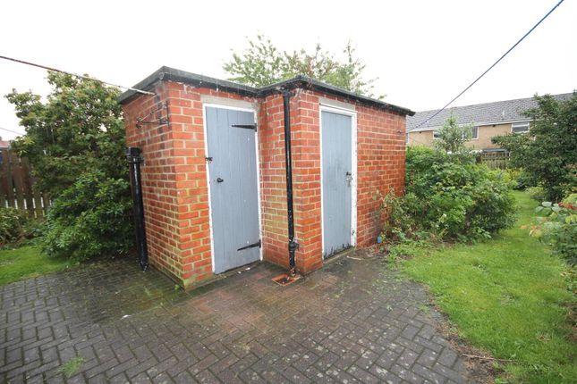 Externally of Canterbury Crescent, Willington, Crook DL15