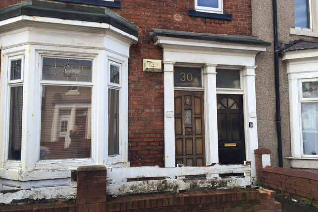Thumbnail Flat to rent in Northcote, South Shields