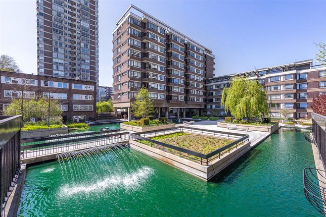 Exterior of The Water Gardens, London W2