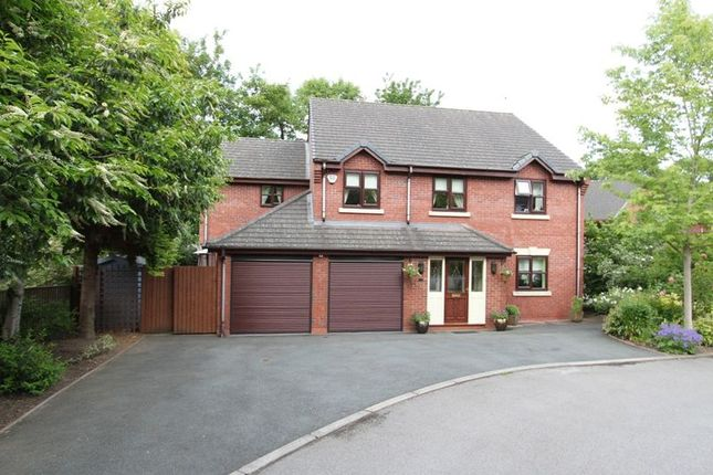 Thumbnail Detached house for sale in Dellbrook Court, Clayton Road, Newcastle-Under-Lyme