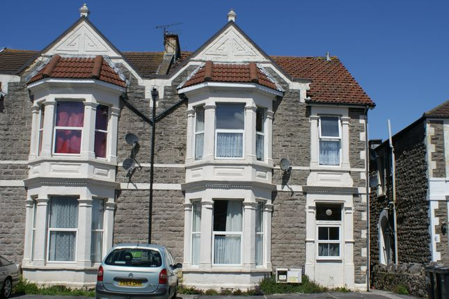 Thumbnail Flat to rent in Locking Road, Weston Super Mare