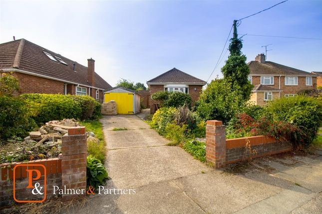 Thumbnail Detached bungalow for sale in D'arcy Road, Colchester