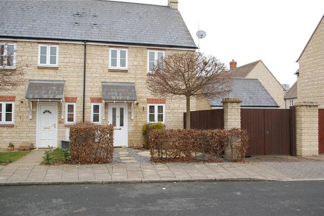 Thumbnail Semi-detached house to rent in Madley Park, Witney, Oxfordshire