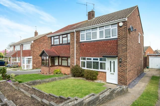 Thumbnail Semi-detached house for sale in Norah Lane, Higham, Rochester, Kent