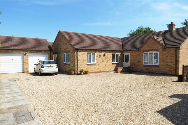 Thumbnail Detached bungalow for sale in Millview Road, Ruskington, Sleaford