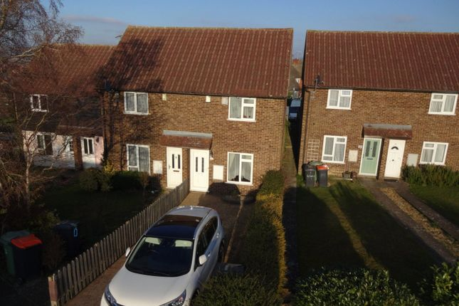 2 bed end terrace house for sale in Bidwell Hill, Houghton Regis, Dunstable, Bedfordshire LU5