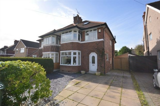 Thumbnail Semi-detached house for sale in Teehey Lane, Bebington, Merseyside