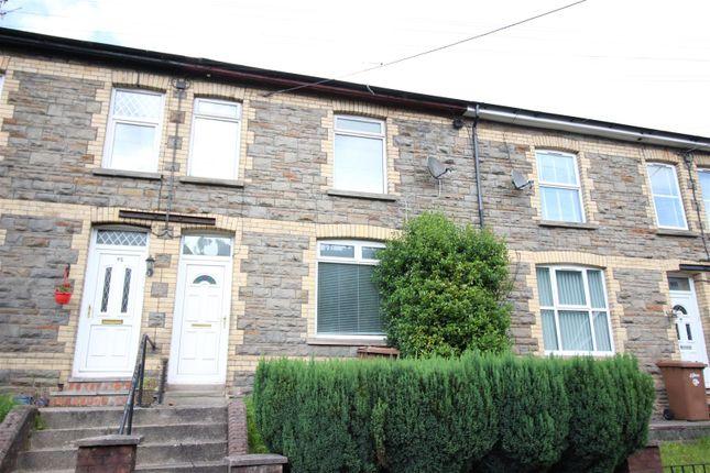 Thumbnail Terraced house for sale in Islwyn Road, Cross Keys, Newport