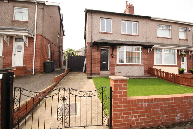 Thumbnail Semi-detached house for sale in Benwell Hill Gardens, Newcastle Upon Tyne