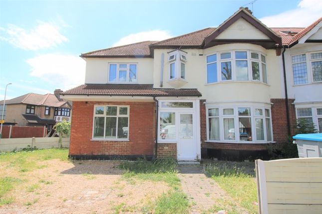Thumbnail End terrace house to rent in Mawney Road, Romford