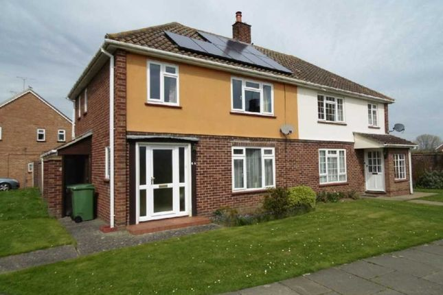 Thumbnail Semi-detached house for sale in Pelly Avenue, Witham