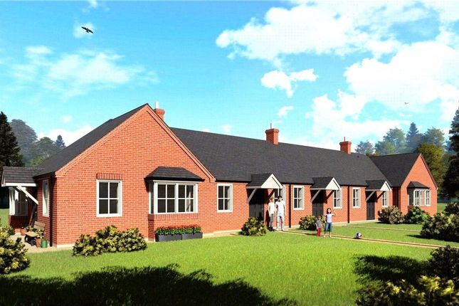 Thumbnail Terraced bungalow for sale in Boston Road, Heckington, Sleaford, Lincolnshire