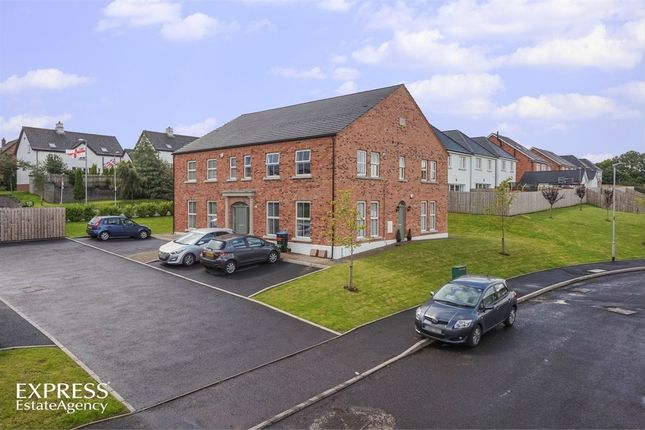 Thumbnail Flat for sale in Foxton Place, Newtownabbey, County Antrim