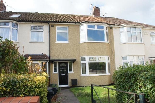 Thumbnail Terraced house to rent in Green Park Road, Southmead, Bristol