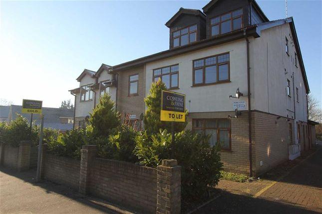 Thumbnail Flat to rent in Irvon Hill Road, Wickford, Essex