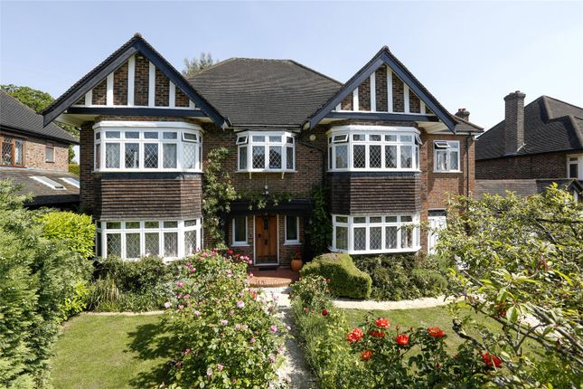 Thumbnail Detached house for sale in Pine Walk, Surbiton