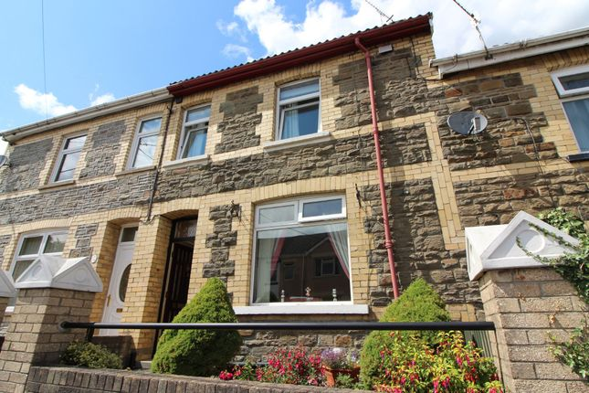 Thumbnail Terraced house for sale in Rhos Newydd, Gordon Road, Blackwood