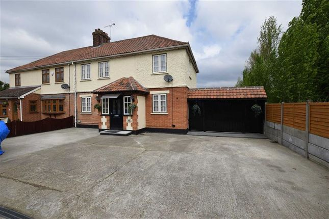 Thumbnail Semi-detached house for sale in Purfleet Road, Aveley, Essex