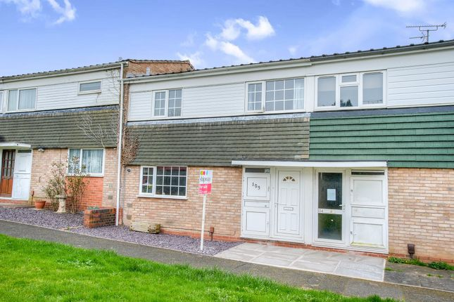 Thumbnail Terraced house for sale in Astley Close, Woodrow, Redditch