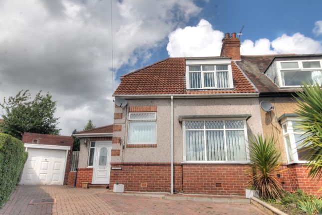 Thumbnail Semi-detached house for sale in The Close, West Denton, Newcastle Upon Tyne