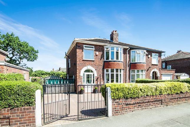 Thumbnail Semi-detached house for sale in Hollyhedge Road, Wythenshawe, Manchester