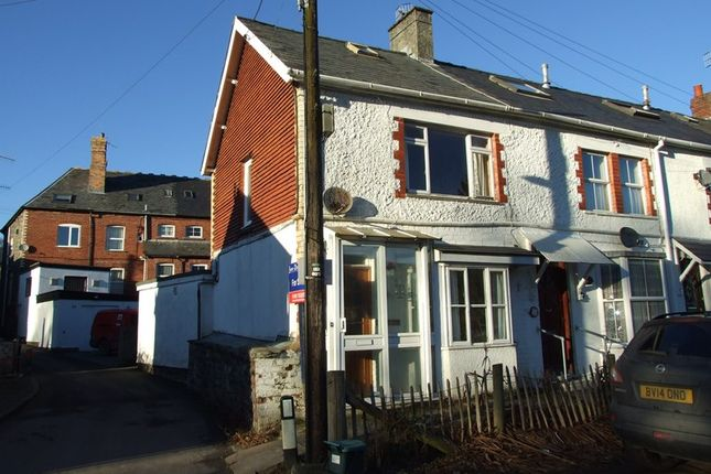 Thumbnail End terrace house for sale in Caeherbert Lane, Rhayader, Powys, 5Ed.