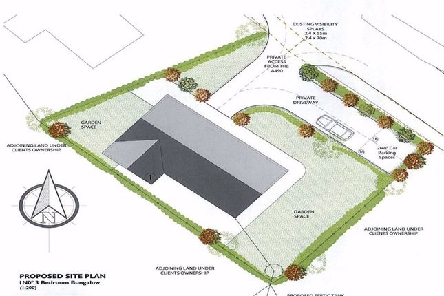 Thumbnail Land for sale in Chirbury, Montgomery