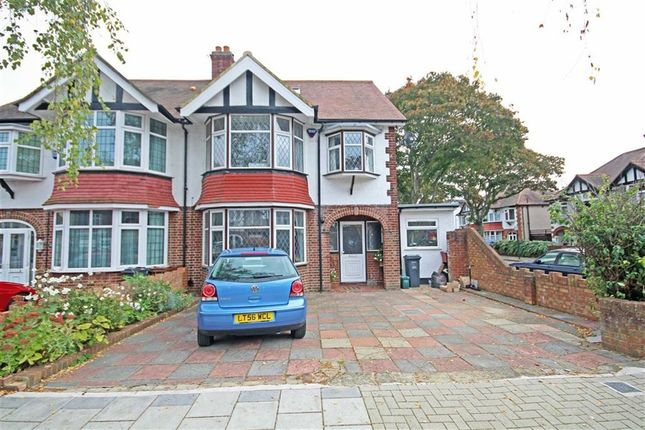 Thumbnail Semi-detached house to rent in Cranmore Avenue, Osterley, Isleworth