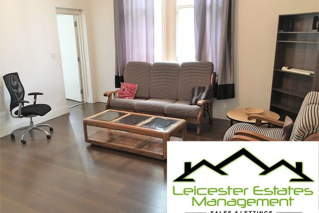 Thumbnail Flat to rent in Churgate, Leicester