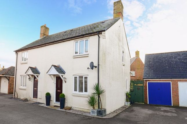 Thumbnail Semi-detached house for sale in Woodsford Close, Crossways
