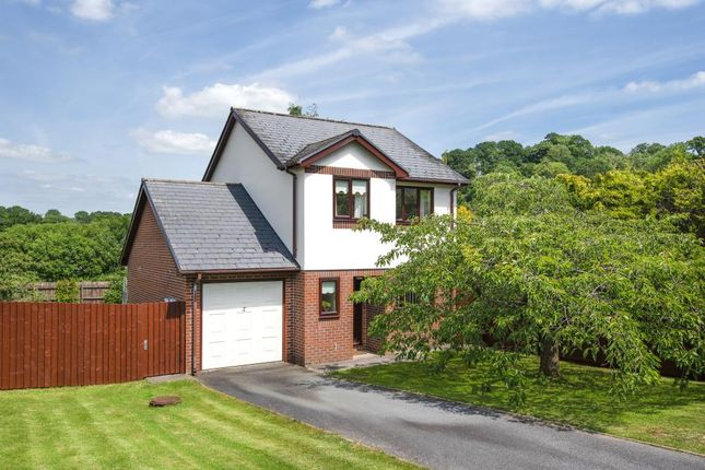 Thumbnail Detached house for sale in Gorse Farm Estate, Llandrindod Wells