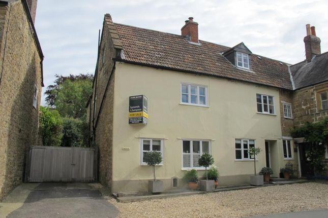 Thumbnail Semi-detached house for sale in Hogshill Street, Beaminster, Dorset