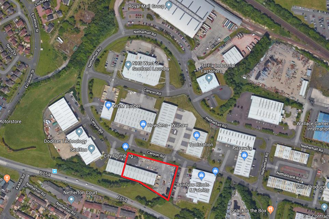 Thumbnail Industrial to let in Excelsior 2, Excelsior Park, Canyon Road, Wishaw