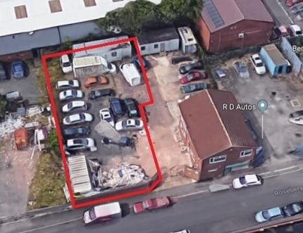 Land to let in Roseberry Street, Wolverhampton