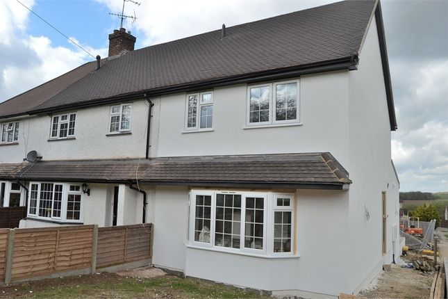 Thumbnail End terrace house for sale in Benningfield Road, Widford, Hertfordshire