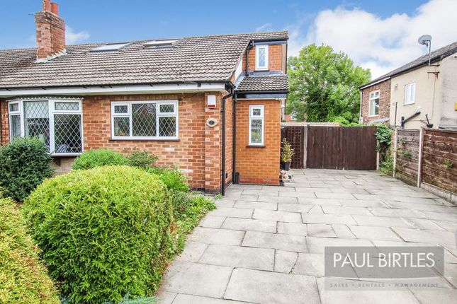 Thumbnail Semi-detached bungalow for sale in Shipley View, Davyhulme, Manchester