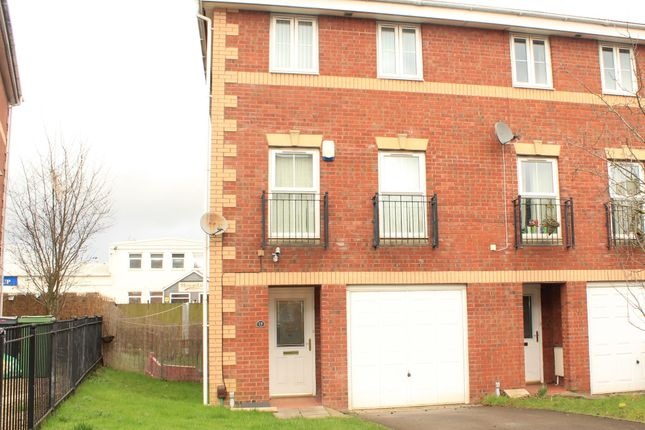 Thumbnail End terrace house for sale in Heol Dewi Sant, Heath, Cardiff