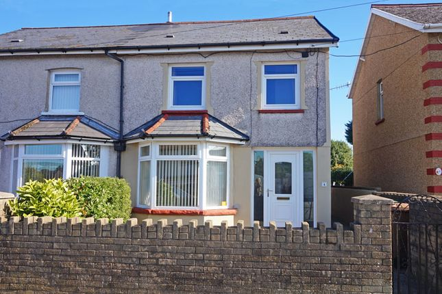 Thumbnail Semi-detached house for sale in Gelligaer Road, Cefn Hengoed